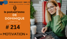 PODCAST'IMMO #214 : MOTIVATION